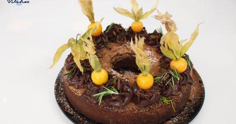 TORTA VEGANA DE CHOCOLATE Y ZUCCHINI